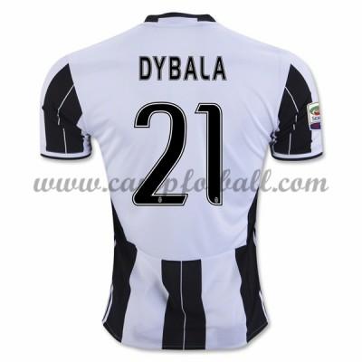 Juventus Fotballdrakter 2016-17 Dybala 21 Hjemmedrakt