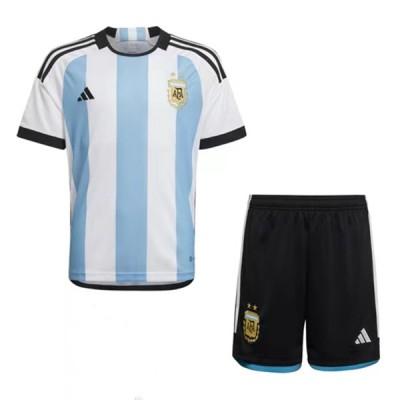 Fotballdrakter Barn Argentina VM 2018 Hjemme Draktsett