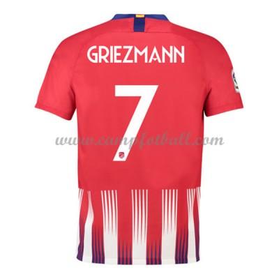 Atletico Madrid Fotballdrakter 2018-19 Antoine Griezmann 7 Hjemmedrakt