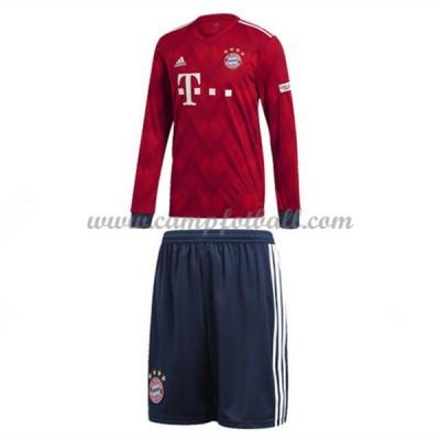 Fotballdrakter Barn Bayern Munich 2018-19 Hjemme Draktsett Langermet