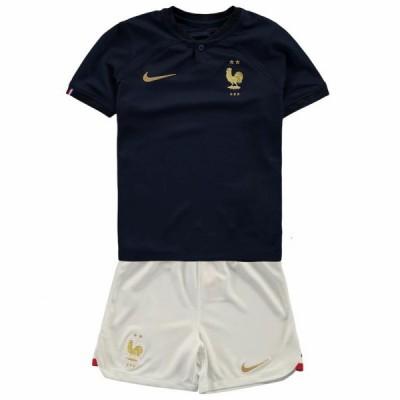 Fotballdrakter Barn Frankrike VM 2018 Hjemme Draktsett