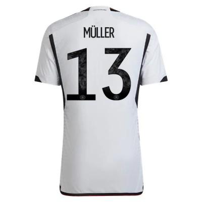 Billige Fotballdrakter Tyskland VM 2018 Thomas Muller 13 Hjemme Draktsett