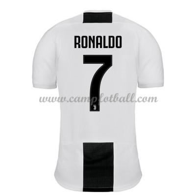 Juventus Fotballdrakter 2018-19 Cristiano Ronaldo 7 Hjemmedrakt