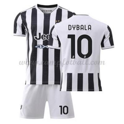 Fotballdrakter Barn Juventus 2017-18 Dybala 10 Hjemme Draktsett