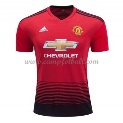 Manchester United Fotballdrakter 2018-19 Hjemmedrakt