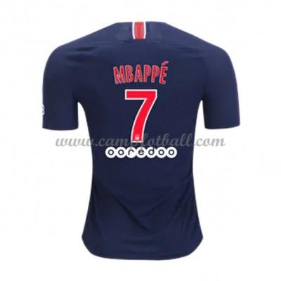 Paris Saint Germain PSG Fotballdrakter 2018-19 Kylian Mbappé 7 Hjemmedrakt
