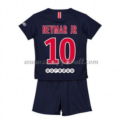 Fotballdrakter Barn Paris Saint Germain PSG 2018-19 Neymar Jr 10 Hjemme Draktsett