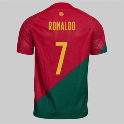 Billige Fotballdrakter Portugal VM 2018 Cristiano Ronaldo 7 Hjemme Draktsett