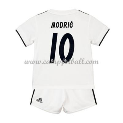 Fotballdrakter Barn Real Madrid 2018-19 Luka Modric 19 Hjemme Draktsett