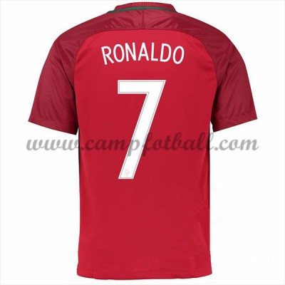 Portugal EM 2016 Fotballdrakter Cristiano Ronaldo 7 Hjemmedrakt