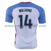 USA 2016 Landslagsdrakter Danny Williams 14 Hjemme Draktsett..